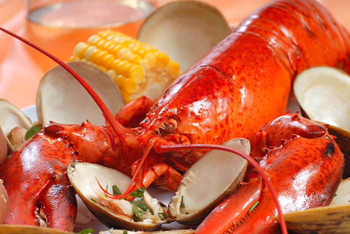 clam bake. lobster bake